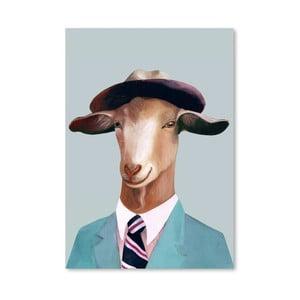 Plagát Goat, 30x42 cm