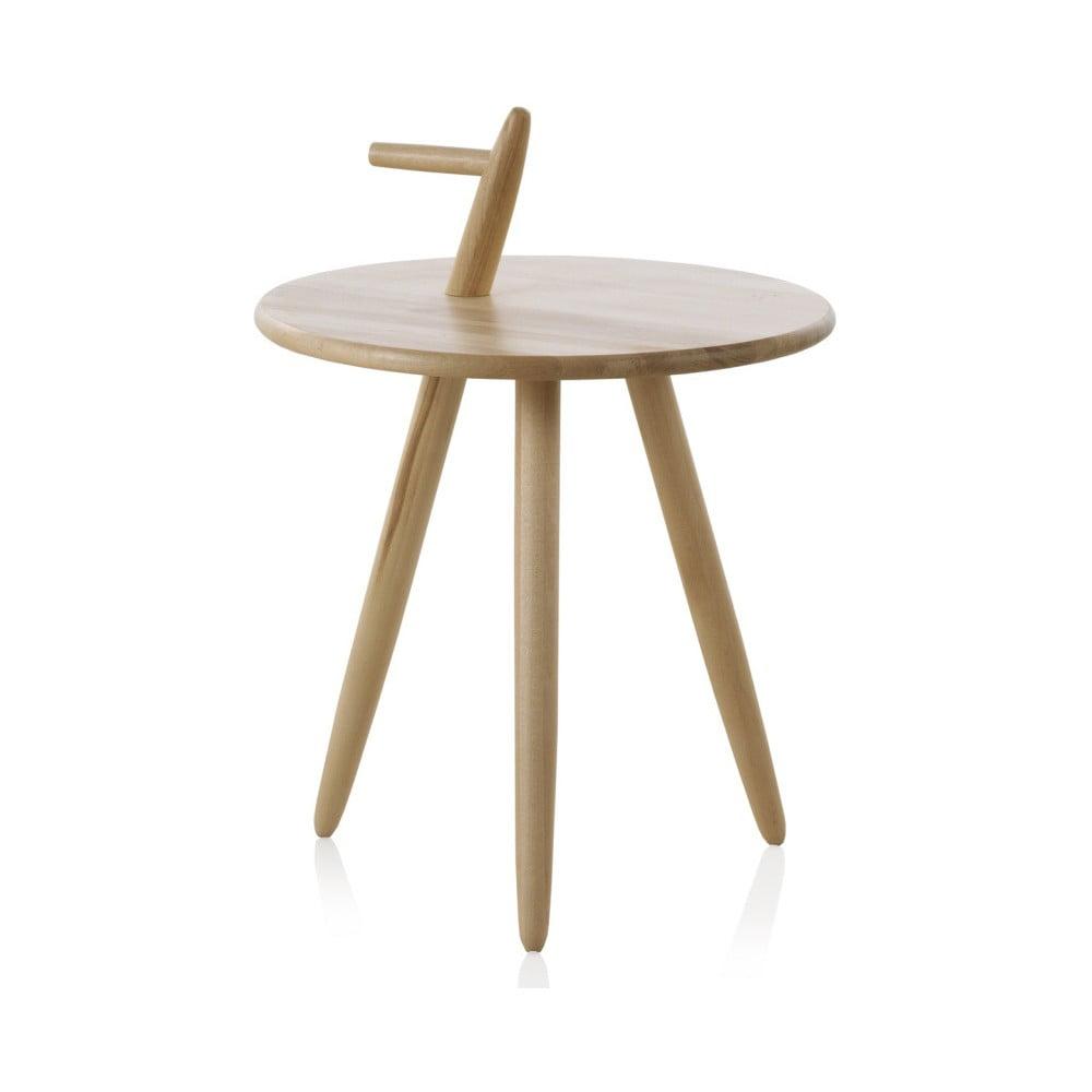 Príručný stolík z brezového dreva Geese Pure, výška 60 cm