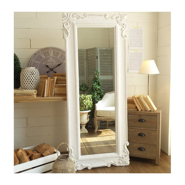 Zrkadlo Antique White Castle