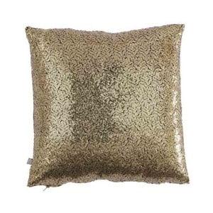 Vankúš zlatej farby s flitrami Bella Maison Diamond, 50 × 50 cm