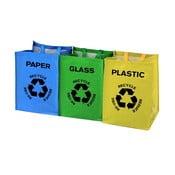 Sada 3 tašiek na triedený odpad Premier Housewares