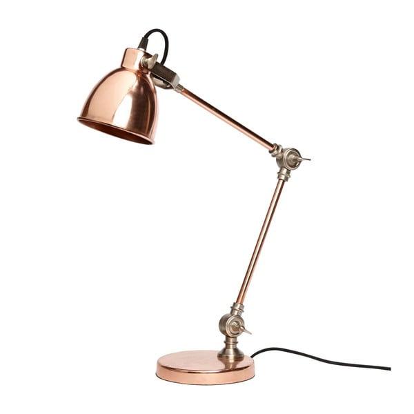 Medená stolová lampa Jasmine