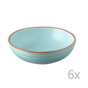 Sada 6 misiek Jamie Oliver 17 cm, modrá
