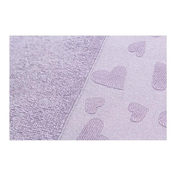 Sada 2 osušiek Kalp Purple, 50x90 cm