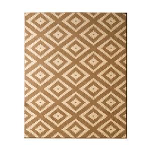 Béžový koberec Hanse Home Hamleti Diamond, 80×300cm