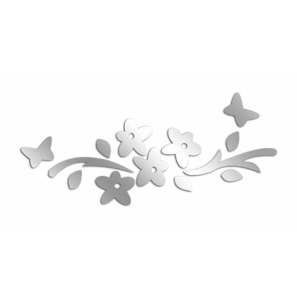 Dekoratívne zrkadlo Flower Butterflies