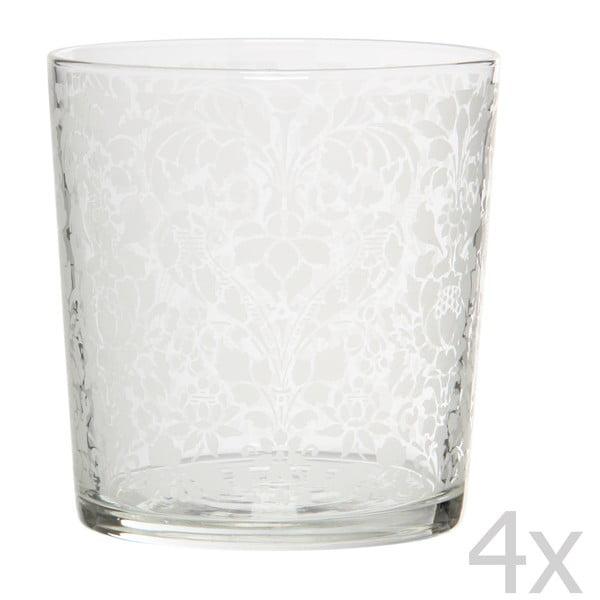 Sada 4 pohárov Tapisserie, 370 ml