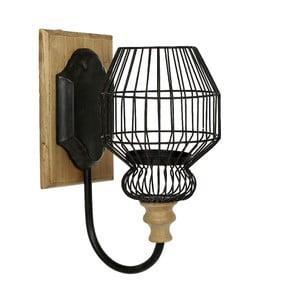 Nástenný svietnik Vintage Cage