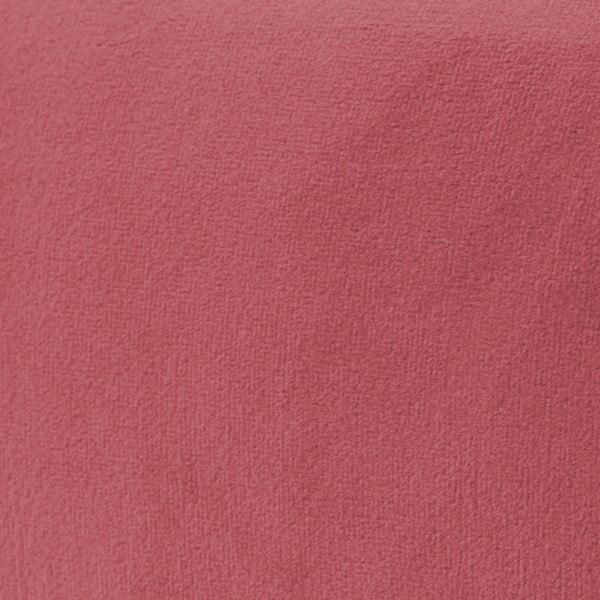 Ružová dvojmiestna pohovka Vivonita Kiara