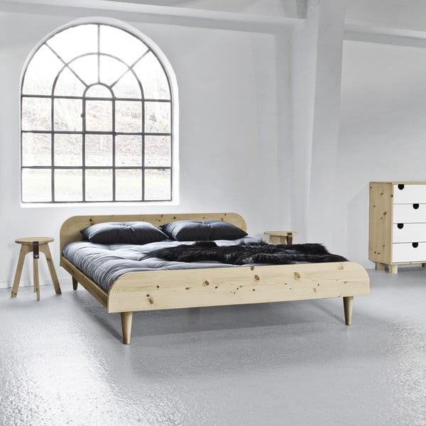 Posteľ Karup Design Twist Natural, 180 × 200 cm