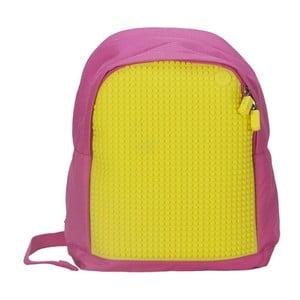 Detský batoh Pixelbag pink/yellow