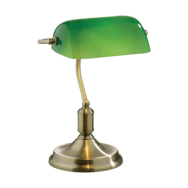Zelená stolová lampa Evergreen Lights Office Green