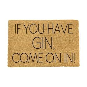 Rohožka Artsy Doormats If You Have Gin, 40×60 cm