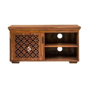 TV stolík z masívneho palisandrového dreva Massive Home Rosie, dĺžka 115 cm