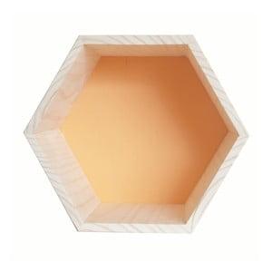 Dekorácia Hexagono Nordic Ocre