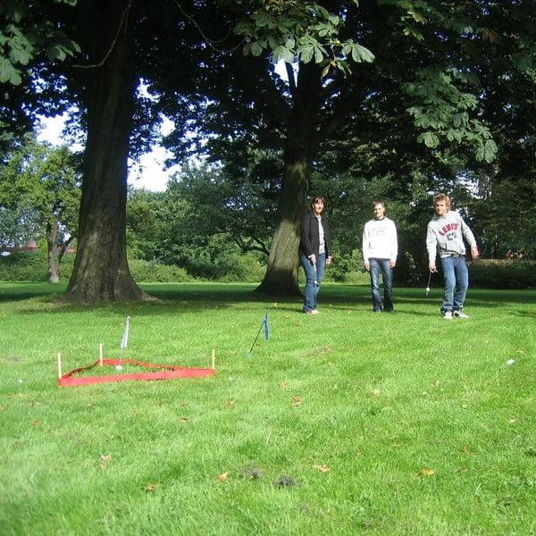 Záhradná hra pre celú rodinu Dropin Hood (trefa do bránky)