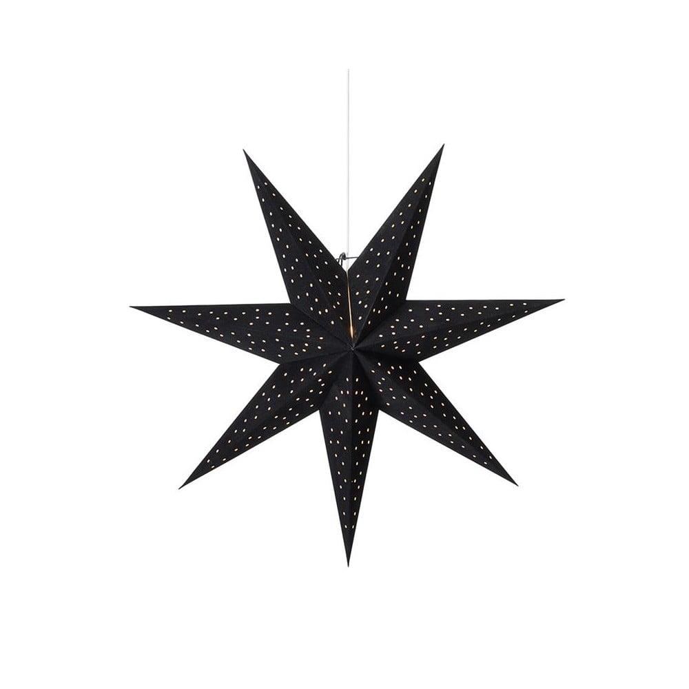 Čierna svetelná dekorácia Markslöjd Clara, výška 75 cm