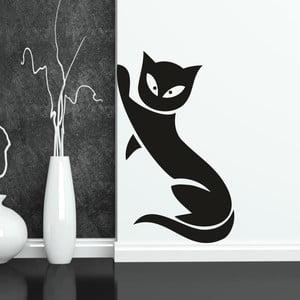 Samolepka na stenu Mačka, ľavá strana