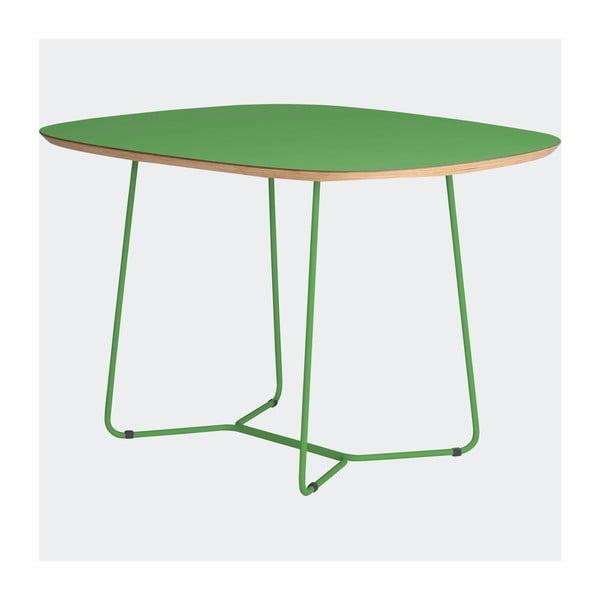Stôl Maple stredný, zelený