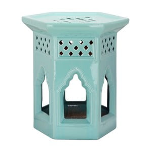 Stolík Moroccan Light Aqua