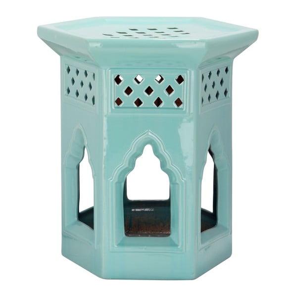 Stolík Moroccan Light Aqua