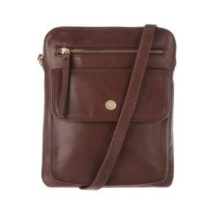 Kožená taška Tess Conker Brown