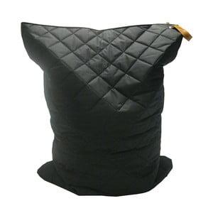 Čierny vak na sedenie OVERSEAS Quilt Beanbag