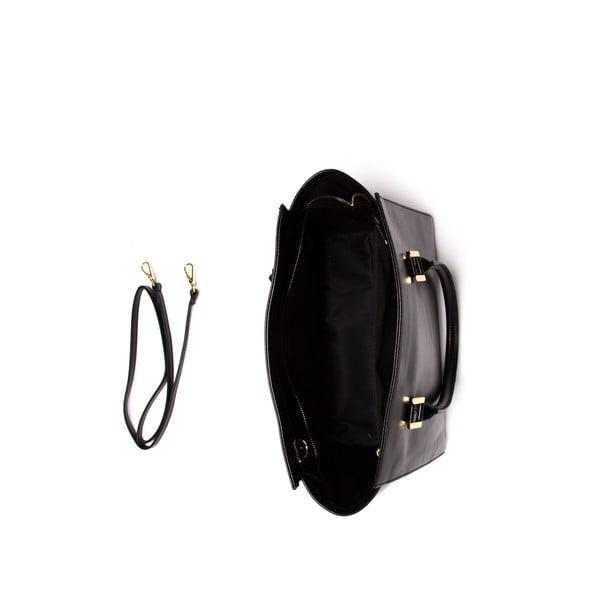 Kožená kabelka Mangotti 382 Nero