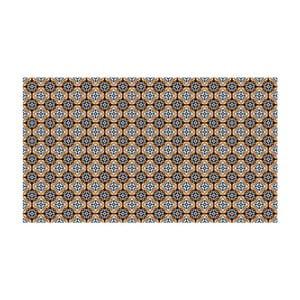 Vinylový koberec Faaria Brown, 52x100 cm