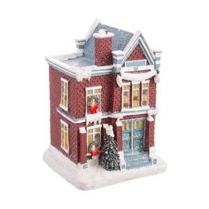 Vianočná dekorácia Unimasa House, výška 12,8 cm