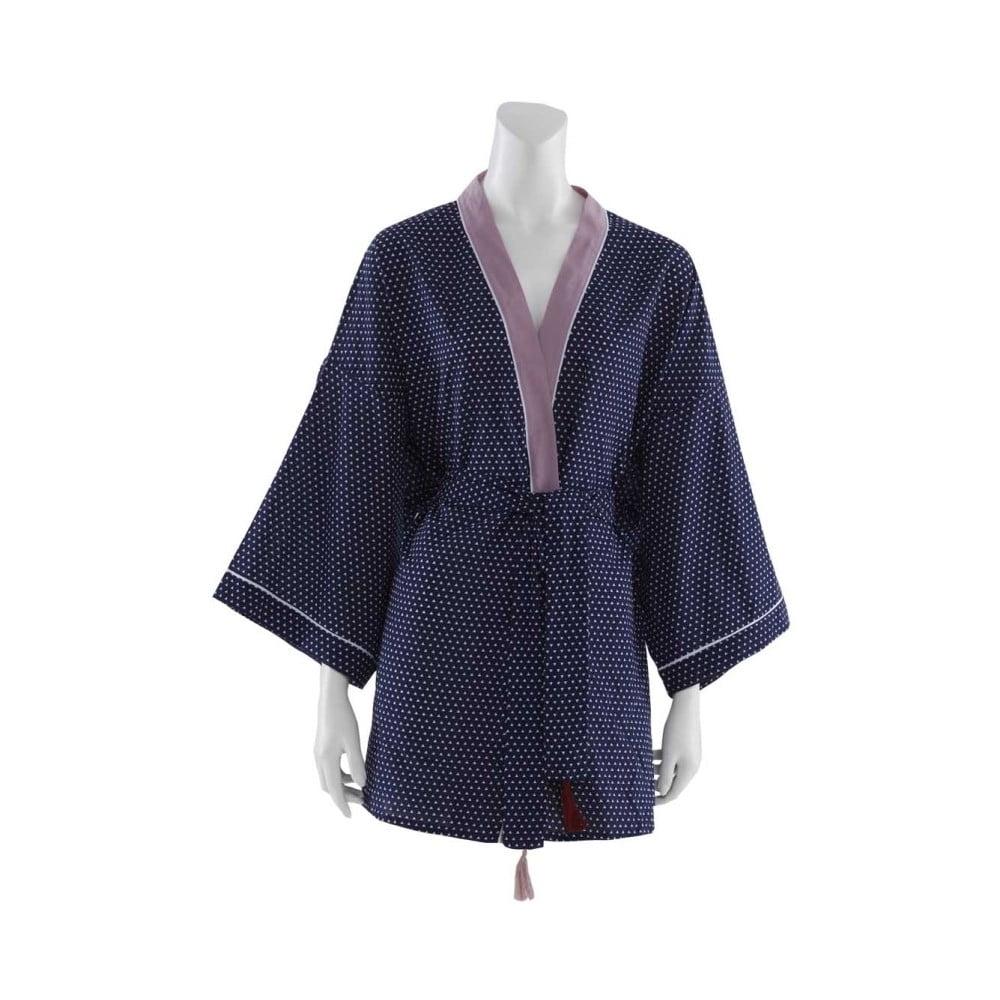 Tmavomodré dámske kimono Bella Maison Adonis, vel. L