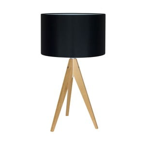 Stolná lampa Artist Black/Birch, 40x33 cm