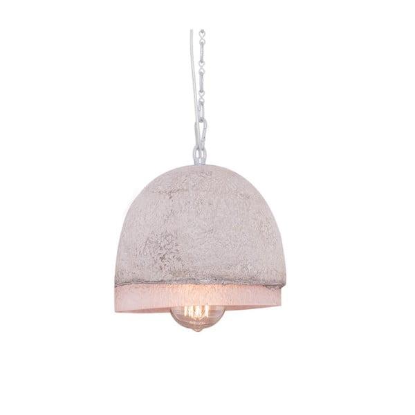 Závesné svetlo s mramorovým tienidlom Fesh, 20 cm
