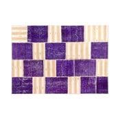 Vlnený koberec Allmode Purple, 180x120 cm