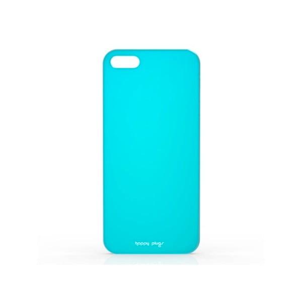 Kryt Happy Plugs na iPhone 5/5S, tyrkysový