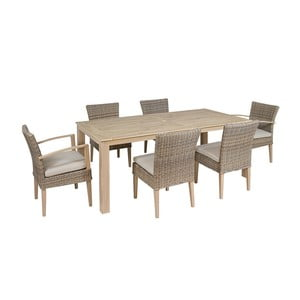 Set záhradného stola a 6 stoličiek Santiago Pons Bay