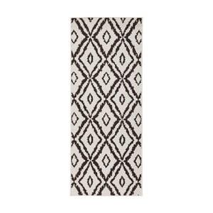 Hnedo-biely obojstranný koberec Bougari Rio, 80×150 cm