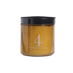 Vonná sviečka Relax, vôňa teaku a cukrovej trstiny