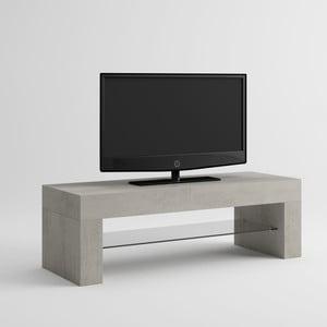 TV stolík v dekore betónu MobiliFiver Evo