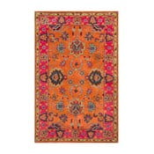 Vlnený koberec Funk Orange, 160x228 cm