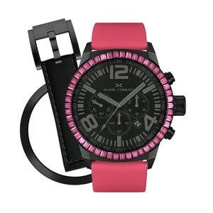 Dámske hodinky Marc Coblen s remienkom a krúžkom na ciferník naviac P66