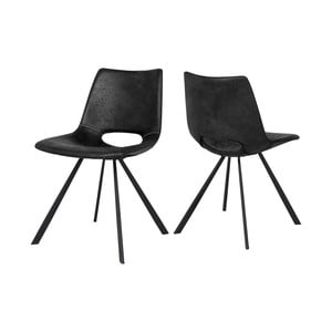 Tmavosivá jedálenská stolička Canett Coronas Rayle