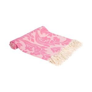 Hammam osuška z ručne tkanej bavlny ZFK Laila, 180 x 100 cm