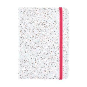 Bledo modrý zápisník o formátu A6 Busy B, 96 strán