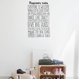 Vinylová samolepka na stenu Little Nice Things Playroom Rules