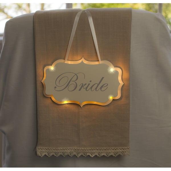 Svadobná dekorácia s LED svetielkami Bride Hanger