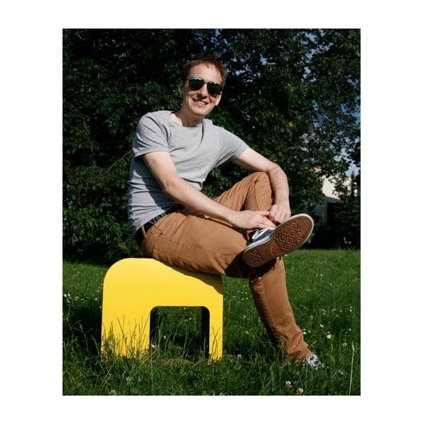 Kartónová stolička Kartoons, prírodná
