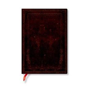 Nelinkovaný zápisník s mäkkou väzbou Paperblanks Moroccan, 13 x 18 cm
