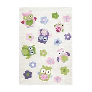 Detský koberec Happy Rugs Holly Owls, 120x180cm
