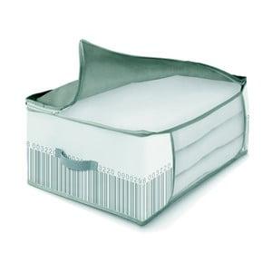 Zeleno-biely úložný box na periny Cosatto Bright, 60 x 45 cm